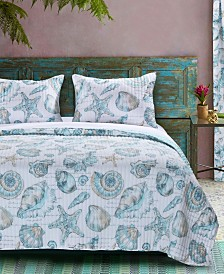 Cruz Quilt Set, 3-Piece Full - Queen