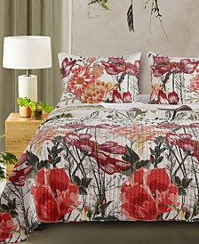 Meadow Quilt Set, 3-Piece Full - Queen