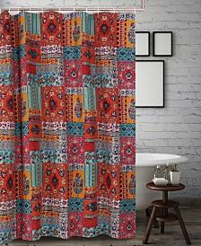 Indie Spice Bath Shower Curtain