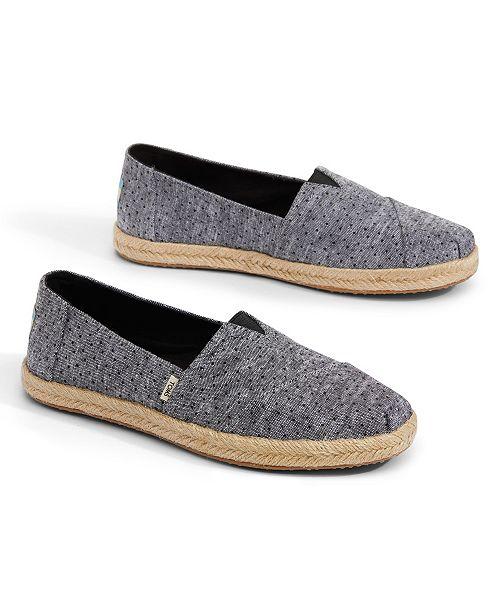 3926495175a TOMS Alpargata Espadrille Slip On Flats   Reviews - Flats - Shoes ...