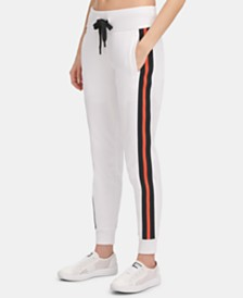 DKNY Sport Stripe Joggers, Created for Macy's