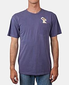 Men's Flamingo Pocket Graphic T-Shirt