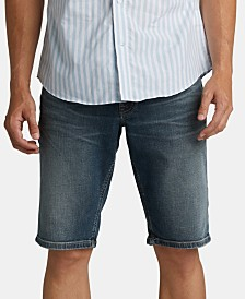 "Silver Jeans Co. Men's Zac Relaxed Denim 12 1/2"" Shorts"