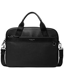Men's Greyson Slim Leather Briefcase
