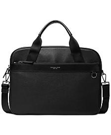 Michael Kors Men's Greyson Slim Leather Briefcase
