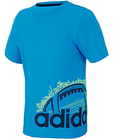 adidas Toddler Boys Doodle Sport Ball Graphic Cotton T-Shirt
