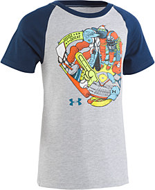 Under Armour Toddler Boys Glove-Print T-Shirt