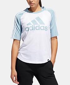 adidas Logo Baseball T-Shirt