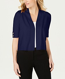 Open-Front Toggle-Sleeve Cardigan, Created for Macys