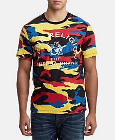 True Religion Men's Camo Graphic  T-Shirt