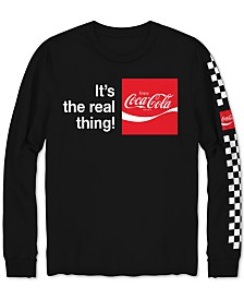 Coca-Cola Long-Sleeve Men's T-Shirt