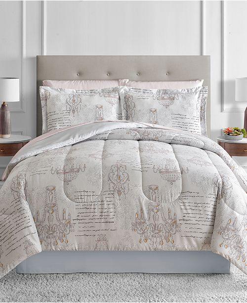Sunham Chandelier Reversible 8-Pc. Comforter Sets