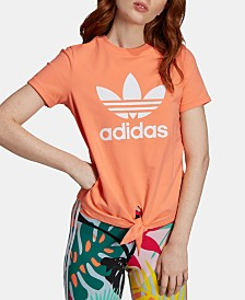 adidas Originals Knotted Logo T-Shirt