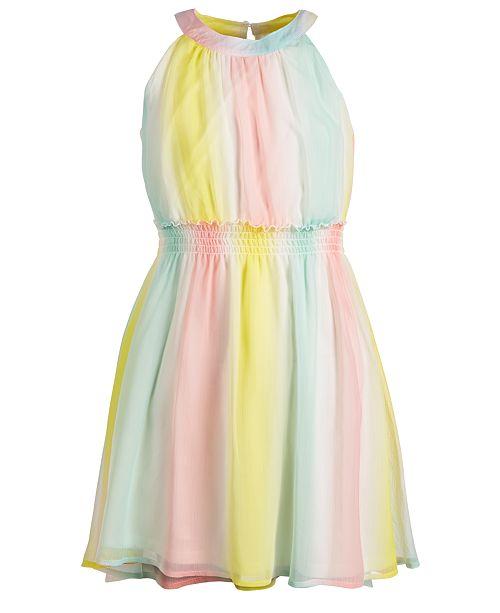 7ca764831cda ... Epic Threads Big Girls Striped Chiffon Dress