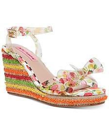 Betsey Johnson Elektra Wedge Sandals