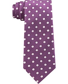Michael Kors Men's Premium Light Dots Slim Silk Tie