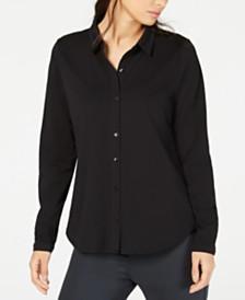 Eileen Fisher Organic Cotton Shirt