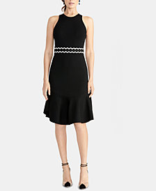 RACHEL Rachel Roy Ella Halter Sweater Dress, Created for Macy's