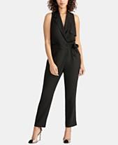 de173e6ce9be RACHEL Rachel Roy Sheilah Tie-Front Jumpsuit, Created for Macy's