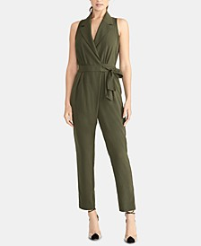 Sheilah Tie-Front Jumpsuit, Created for Macy's