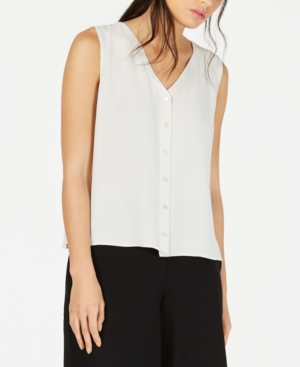 Eileen Fisher Tops SILK SLEEVELESS BLOUSE, REGULAR & PETITE