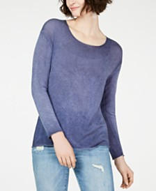 I.N.C. Metallic-Trim Top, Created for Macy's