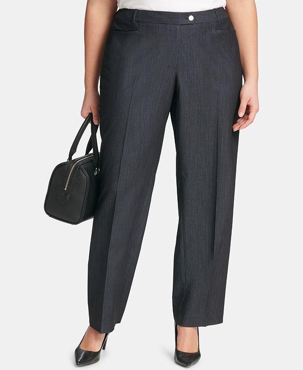 Calvin Klein Plus Size Modern Dress Pants