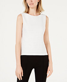 Calvin Klein Petite Lace Sleeveless Top