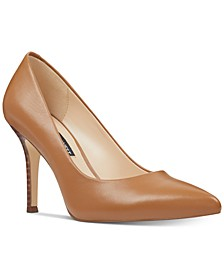 Flax Pointed Toe Pumps