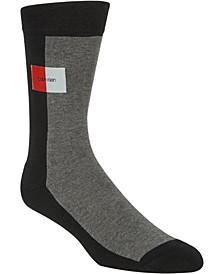 Men's Colorblocked Crew Socks