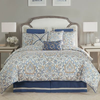 Janine 4 Piece  Queen Comforter Set