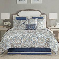Croscill Janine 4 Piece  Queen Comforter Set