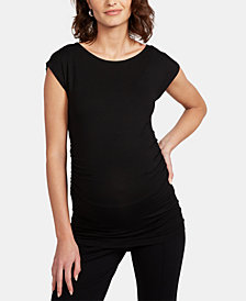 Isabella Oliver Maternity Ruched Top