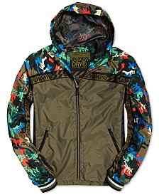Superdry Men's Hawk Colorblocked Cagoule