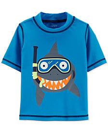 Carter's Baby Boys Shark Graphic Rash Guard