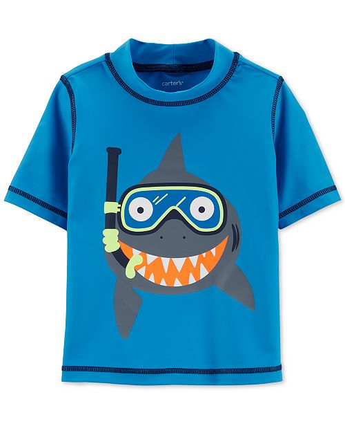104577c47b Carter's Baby Boys Shark Graphic Rash Guard & Reviews - Swimwear ...
