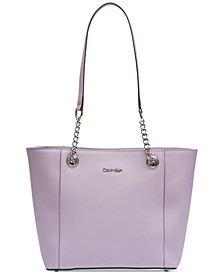 Hayden Saffiano Leather Large Tote