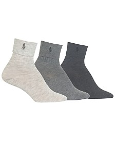Polo Ralph Lauren 3 Pack Turncuff Crew Socks