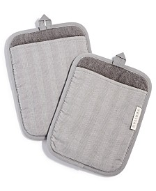 Hotel Collection Countertop Set of 2 Potholders, Created for Macy's