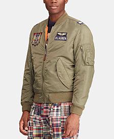Polo Ralph Lauren Men's Reversible Twill Bomber Jacket