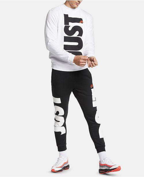 Nike Men's Sportswear Just Do It Collection