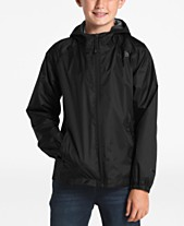 e835067aacaa0 The North Face Big Boys Zipline Hooded Rain Jacket