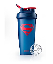 Blenderbottle Justice League Superhero Classic 28-Ounce Shaker Bottle, Superman
