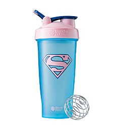 Justice League Superhero Classic 28-Ounce Shaker Bottle, Supergirl