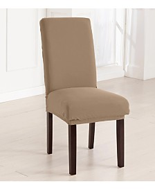 4-Pack Jersey Knit Solid Dining Room Chair Cover