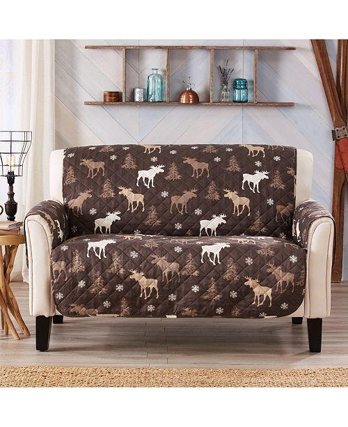 Tremendous Sofa Saver Lodge Printed Reversible Loveseat Furniture Protector Ncnpc Chair Design For Home Ncnpcorg