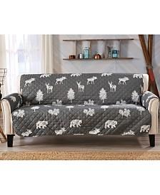 Sofa Saver Lodge Printed Reversible Sofa Furniture Protector