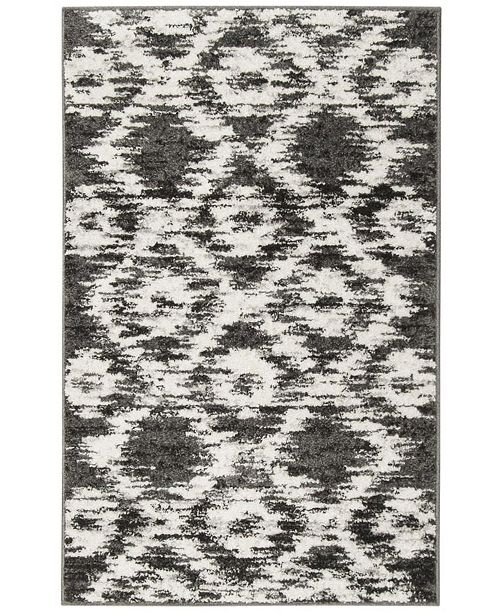 Safavieh Adirondack 118 Charcoal and Ivory Area Rug Collection