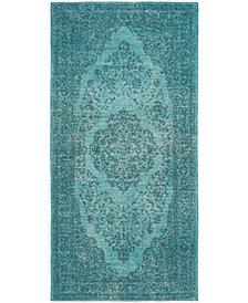 Safavieh Classic Vintage Aqua 3' x 5' Area Rug