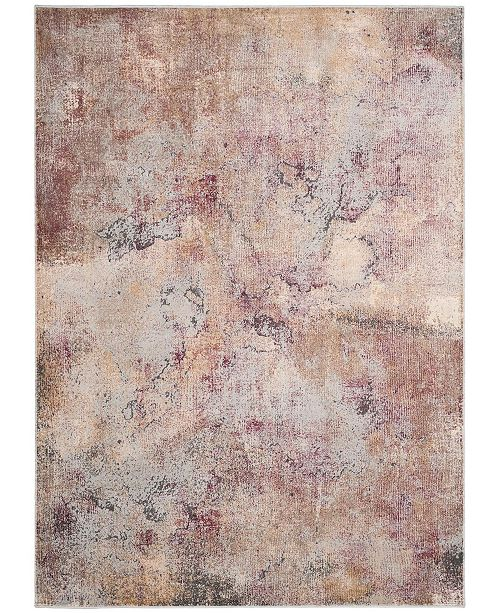 "Safavieh Constellation Vintage Beige and Multi 4' x 5'7"" Area Rug"
